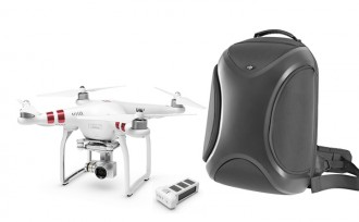 Phantom 3 Standard + Extra Battery + Multifunctional Backpack