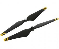 9450 탄소섬유 셀프-타이트닝 프로펠러 (노랑 줄무늬)