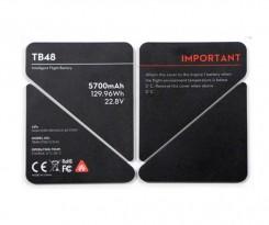 인스파이어1 - TB48 배터리 단열 스티커
